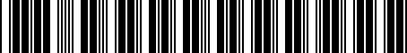 Barcode for 30740470-7