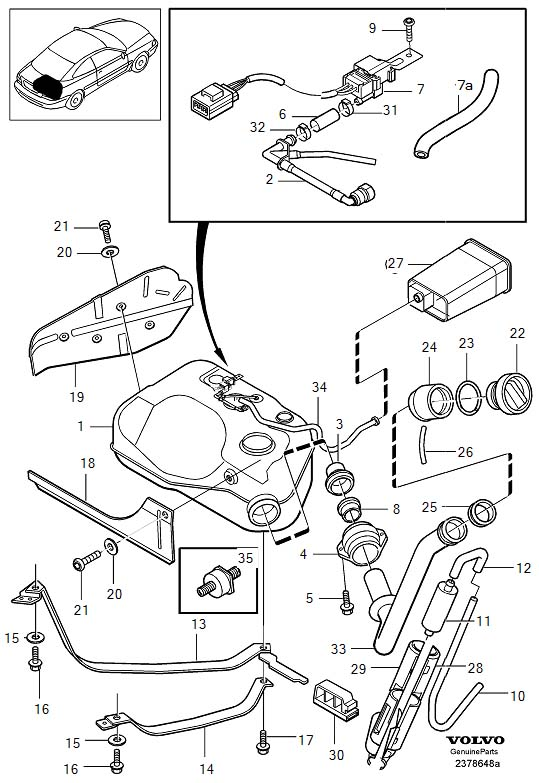 2008 volvo xc90 exhaust diagram