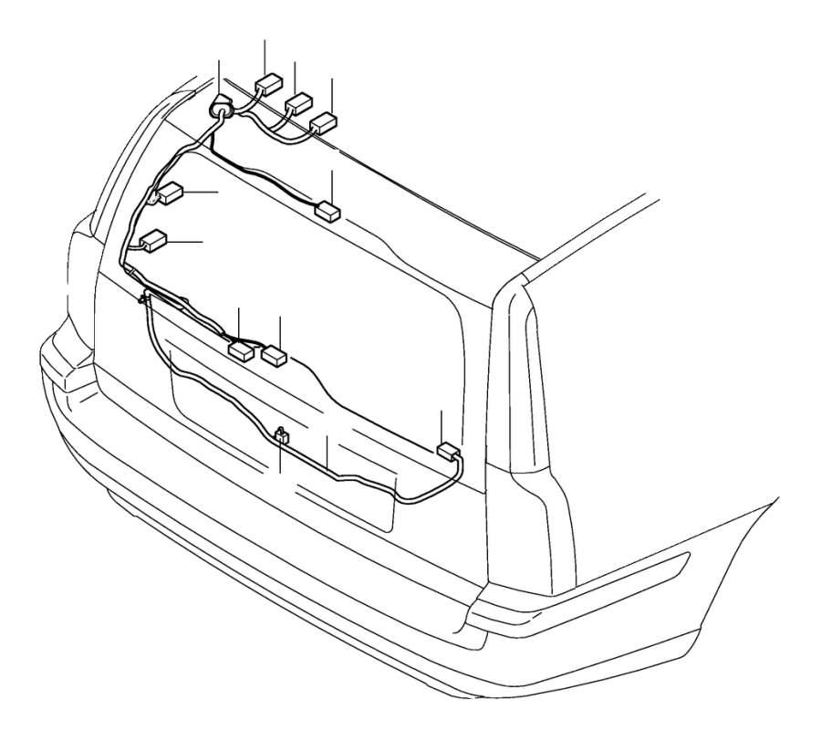 volvo v70 wiring harness