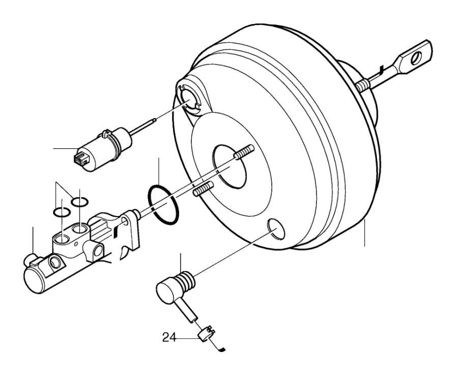 9441116 - Volvo Sensor. Servocylinder   Volvo Parts ...