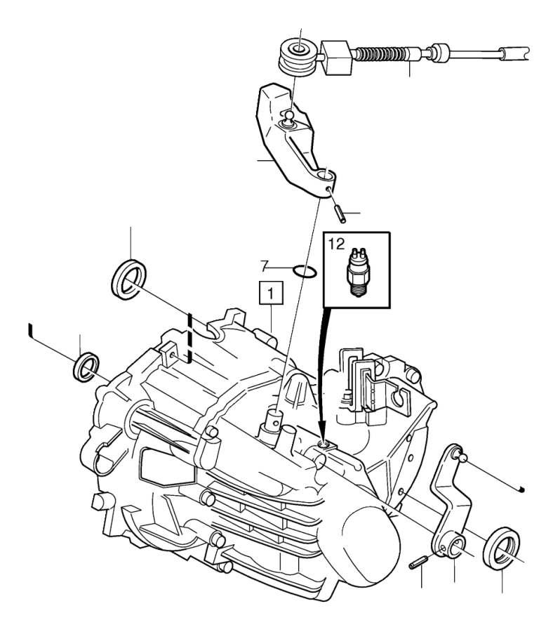 Volvo Parts: Volvo V50 Drive Shaft Seal - 6843481