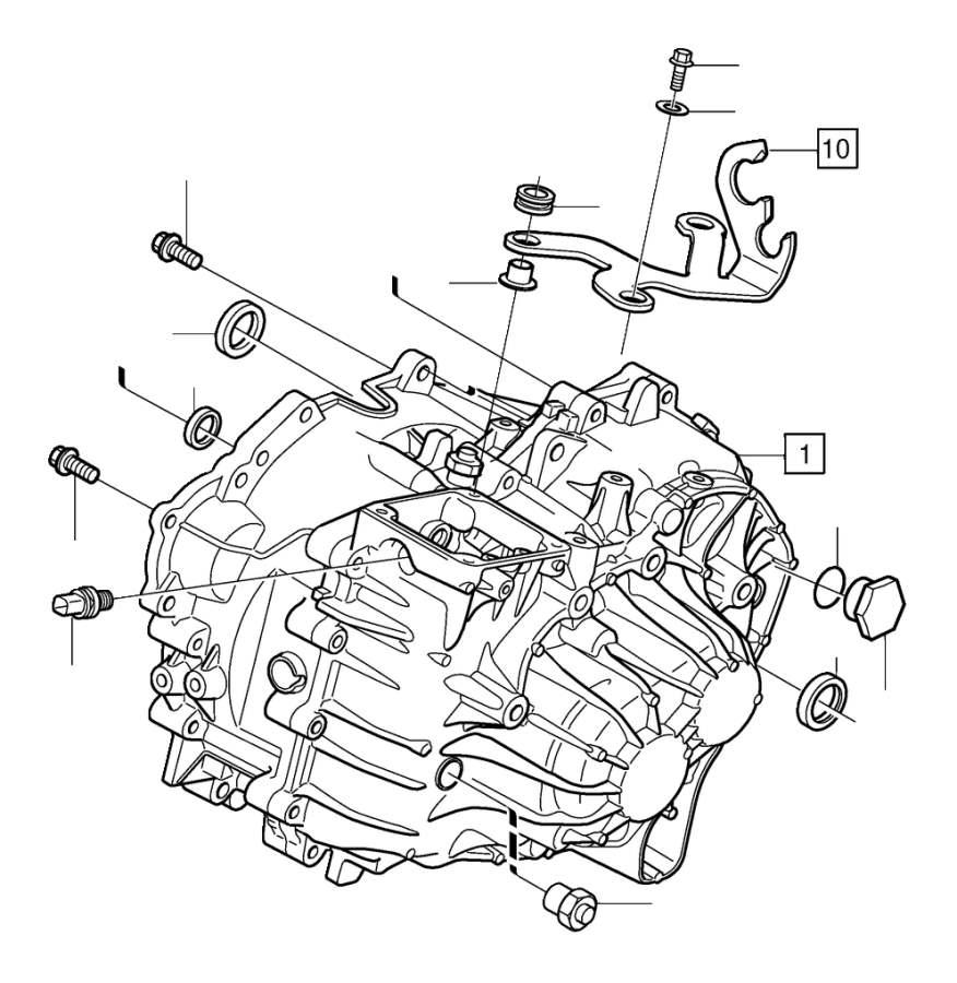 Volvo Parts: Volvo V40 Reverse Light Switch - 30729812