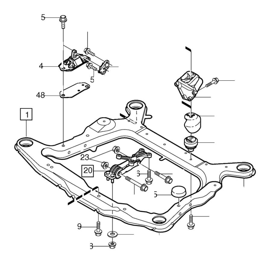 Volvo Xc90 Engine Mounting