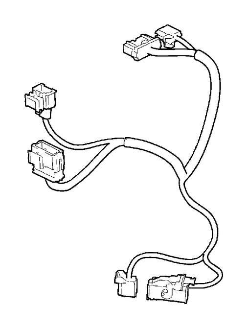 volvo xc60 wiring harness  bpm  tem  andor