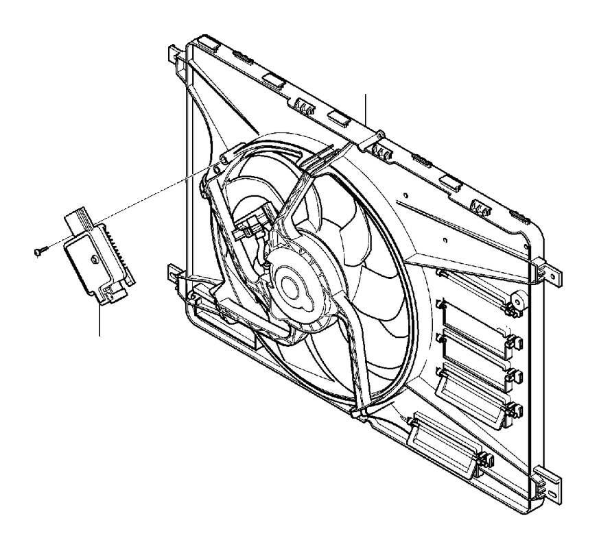 31368867  Volvo    Electrical    fan Shroud  Inclusive   Volvo
