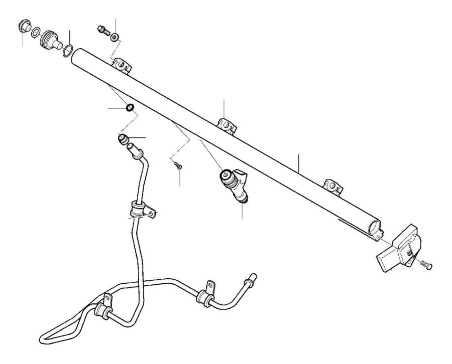 2012 volvo s60 injector  highpressure