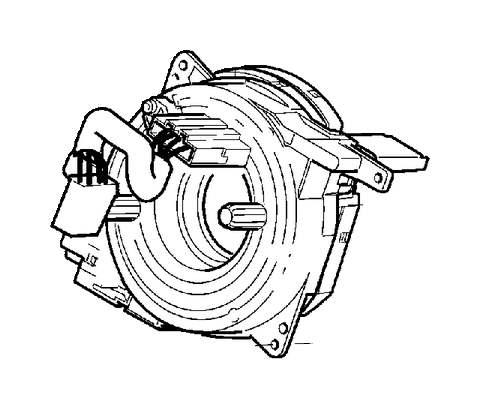 31343218  Volvo Contact reel Clockspring   Volvo Parts Webstore  Oak Park IL