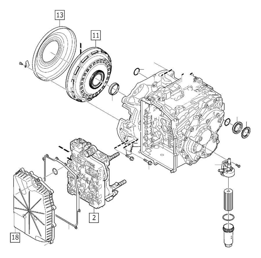 Volvo Parts: Volvo V50 Oil Filter Housing - 31256732