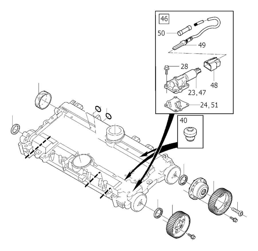 Volvo Parts: 3531523 - Volvo Pulley. VVT