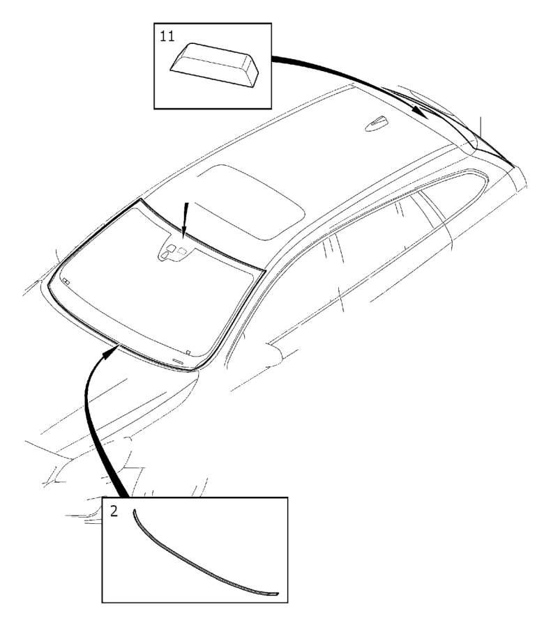 Volvo Parts: Volvo Windshield. Rainsensor, Even, Installing