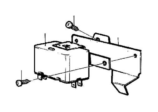 1987 volvo 240 step relay  maindipped  beamsflasher