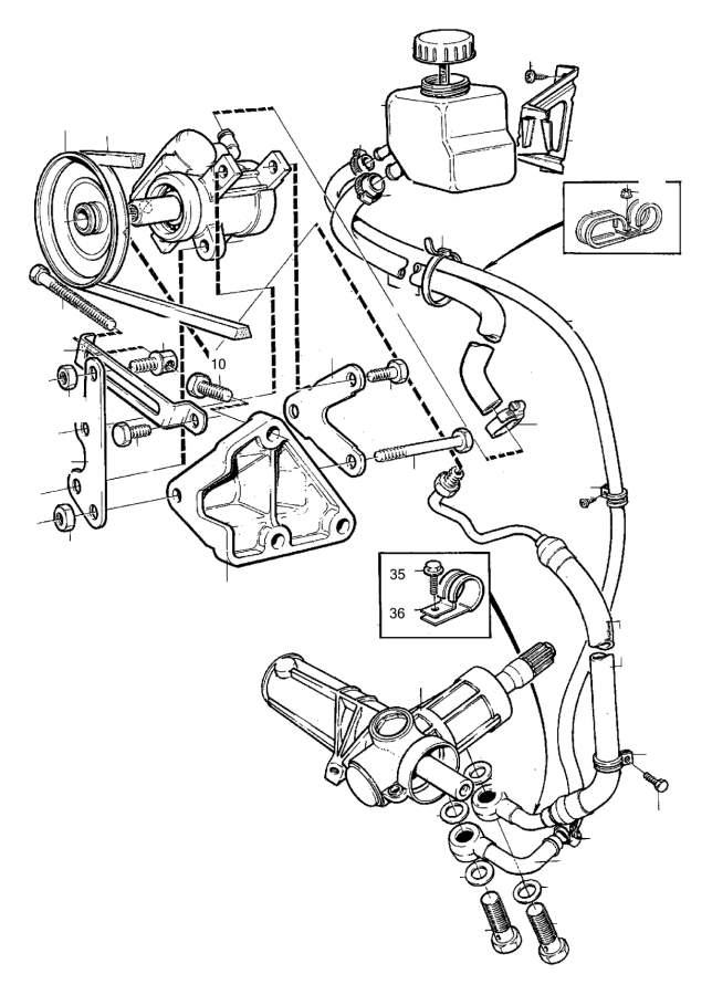 Gr on Volvo 940 Power Steering Pump