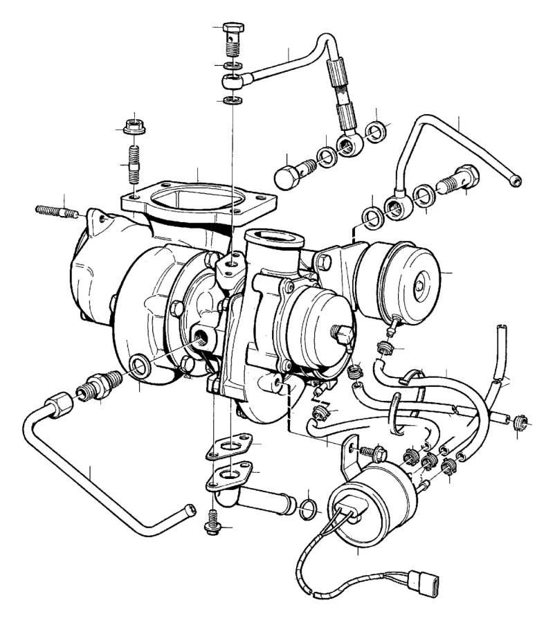 Volvo Parts: Volvo Sealing Ring. MITSUBISHI, GARRETT, GARRET