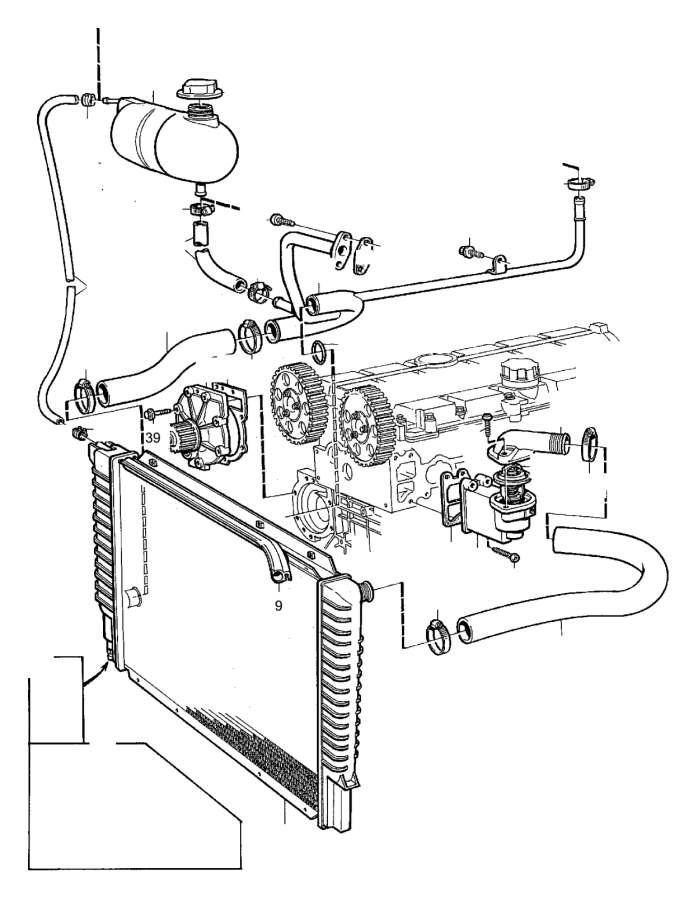 Volvo S40 Parts Diagrams