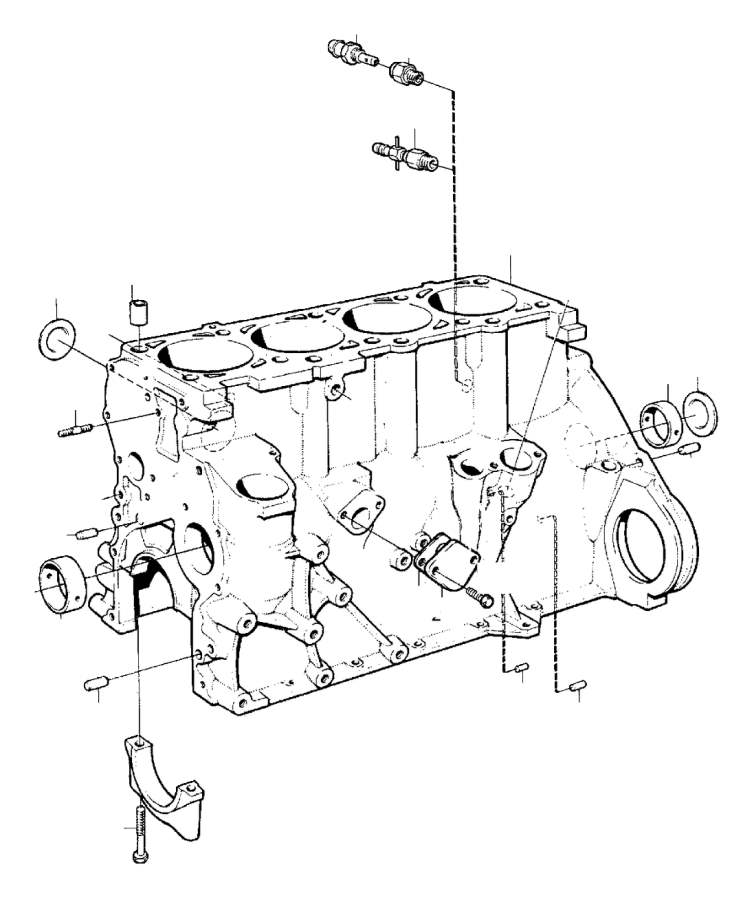 Volvo Parts: 1976 Volvo Expansion Plug. Genuine Classic Part