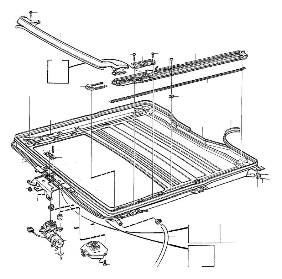 9159880 volvo guide rail right genuine classic part. Black Bedroom Furniture Sets. Home Design Ideas