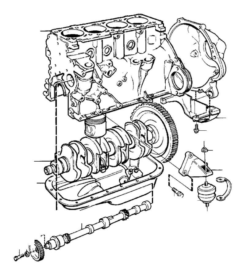1988 volvo engine pad