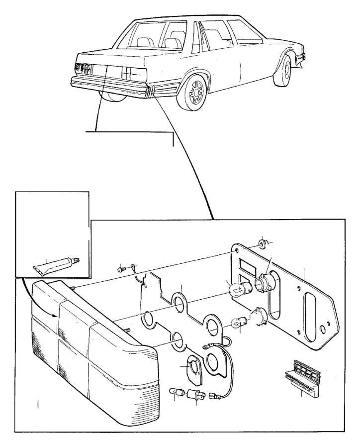 Volvo Parts: Volvo 240 4DRS W/O S.R Insulator. Genuine Classic Part