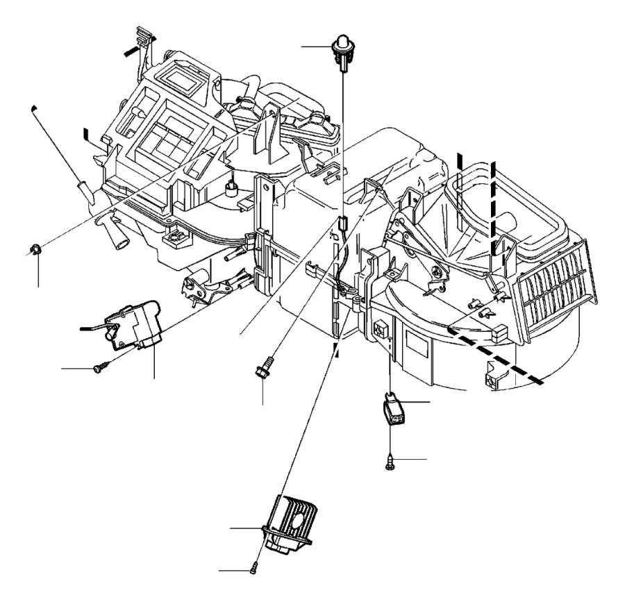 volvo v40 transistor  evaporator  airconditioning