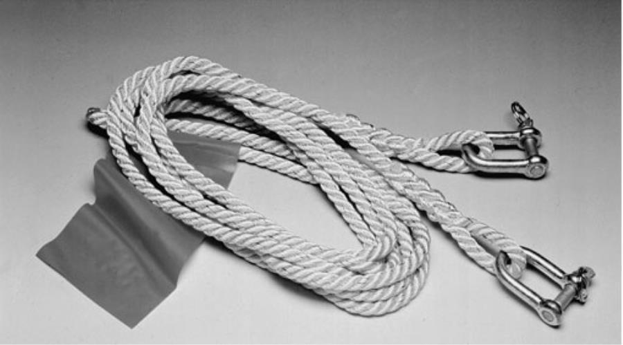 Буксировочный трос из веревки своими руками 23