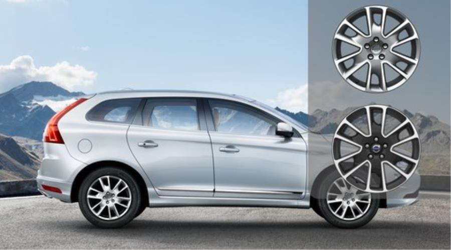 Volvo Xc70 Aluminum Rim Freja 8 X 18 Excl Br Diamond