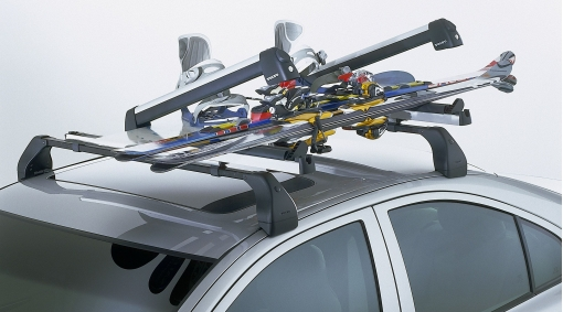 Diagram Ski carrier with sliding rail for your Volvo XC40