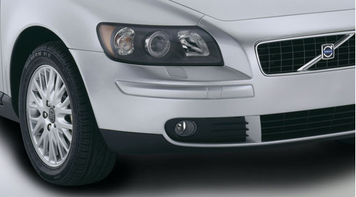 Diagram Fog lights, spoiler A low light that not only improves visibility in haze, fog and snow, but which also gives the car a tougher look. for your 2007 Volvo S40