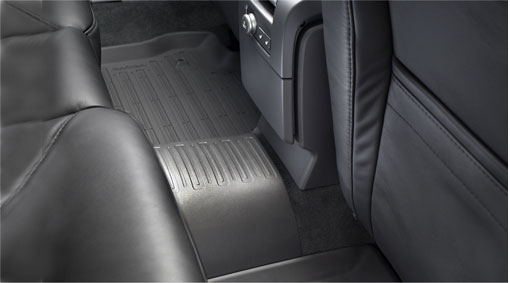 Mat, tunnel mat A mat of natural rubber for the tunnel in the backseat. It protects the car's original mat from dirt and wear, and is especially suitable with three persons in the backseat. Diagram