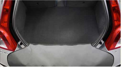 Diagram Dirt cover, rear bumper A practical cover for the rear bumper that prevents clothes from getting dirty and protects the bumper when loading and unloading. for your Volvo S60 Cross Country