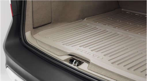 Diagram Mat, cargo space, molded plastic An attractive plastic protective mat, form-molded for the cargo space. for your 1993 Volvo