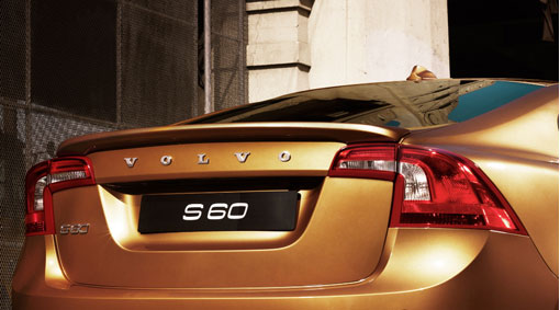 Diagram Spoiler, boot lid A striking and colour coordinated rear spoiler for <strong>S60</strong> that improves the already excellent driving characteristics, without increasing fuel consumption, especially at high speeds. for your Volvo S60L