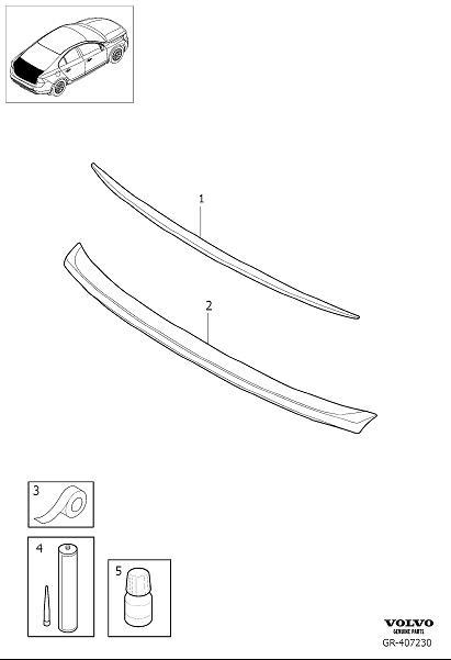 Diagram Spoiler for your Volvo S60L