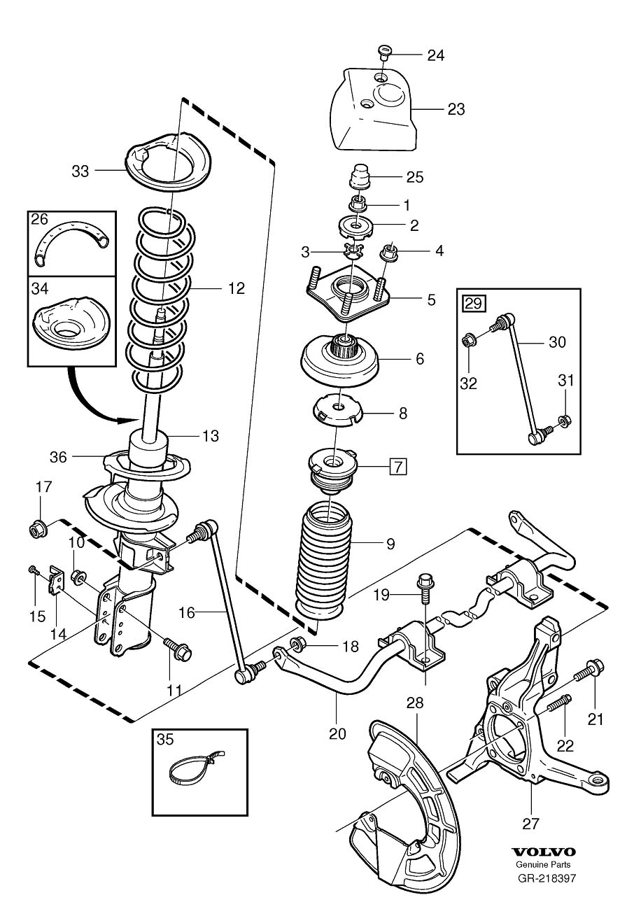 Topic on 2000 Volvo S80 Front Suspension Diagram