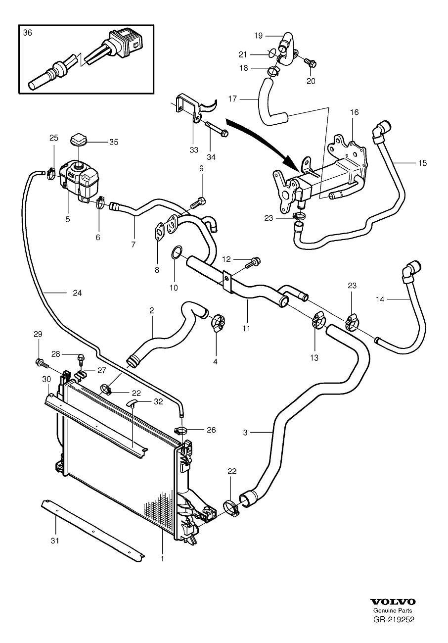 2004 volvo xc90 engine diagram