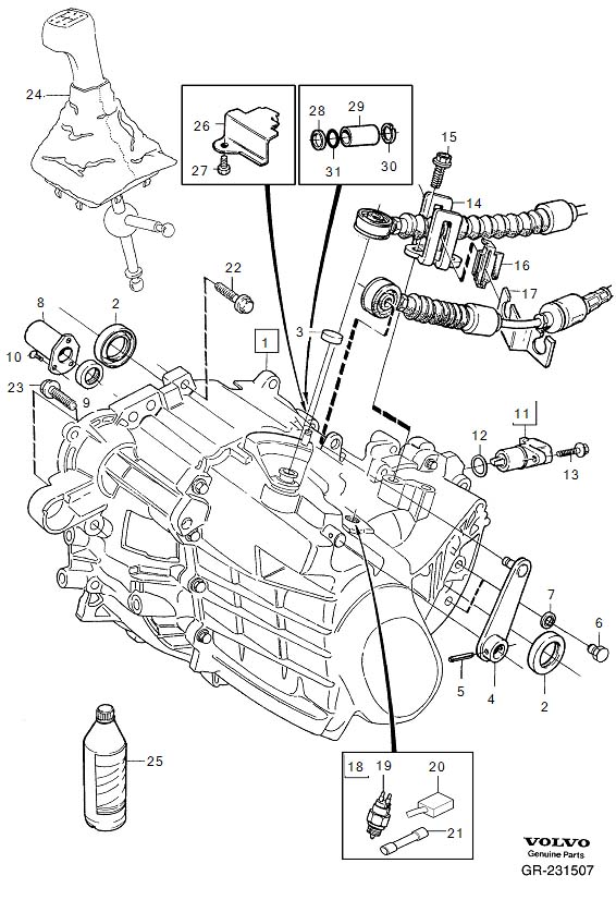 volvo xc90 parts diagram drive shaft