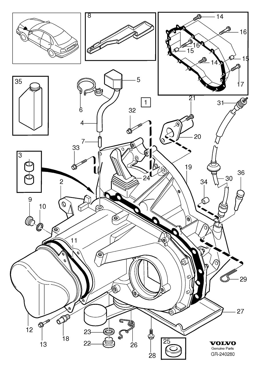 service manual  exploded view 2010 volvo s40 manual