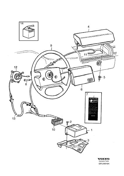 Volvo S80 Airbag Module Location on Wiring Diagram As Well 2006 Chevy Trailblazer Headlight