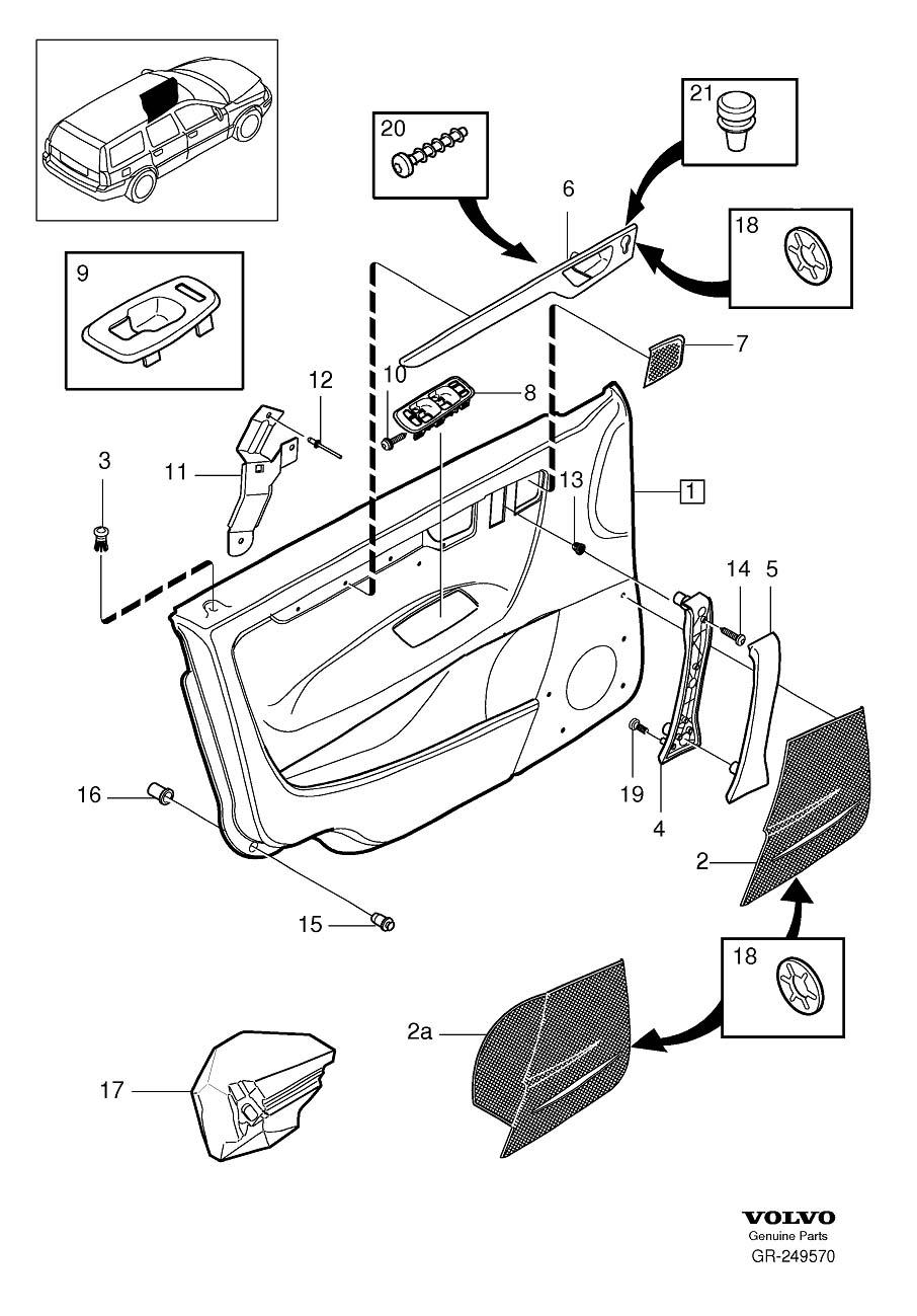 Volvo S60 Door Diagram Electrical Wiring Diagrams 2007 Parts Diy Enthusiasts U2022 2001