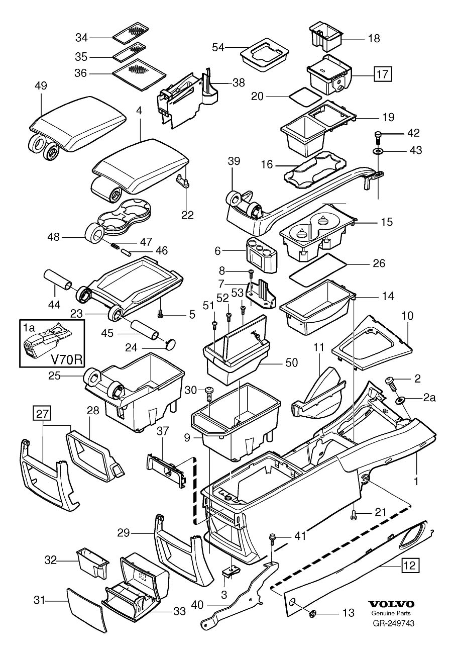 service manual  2003 volvo xc70 removal diagram