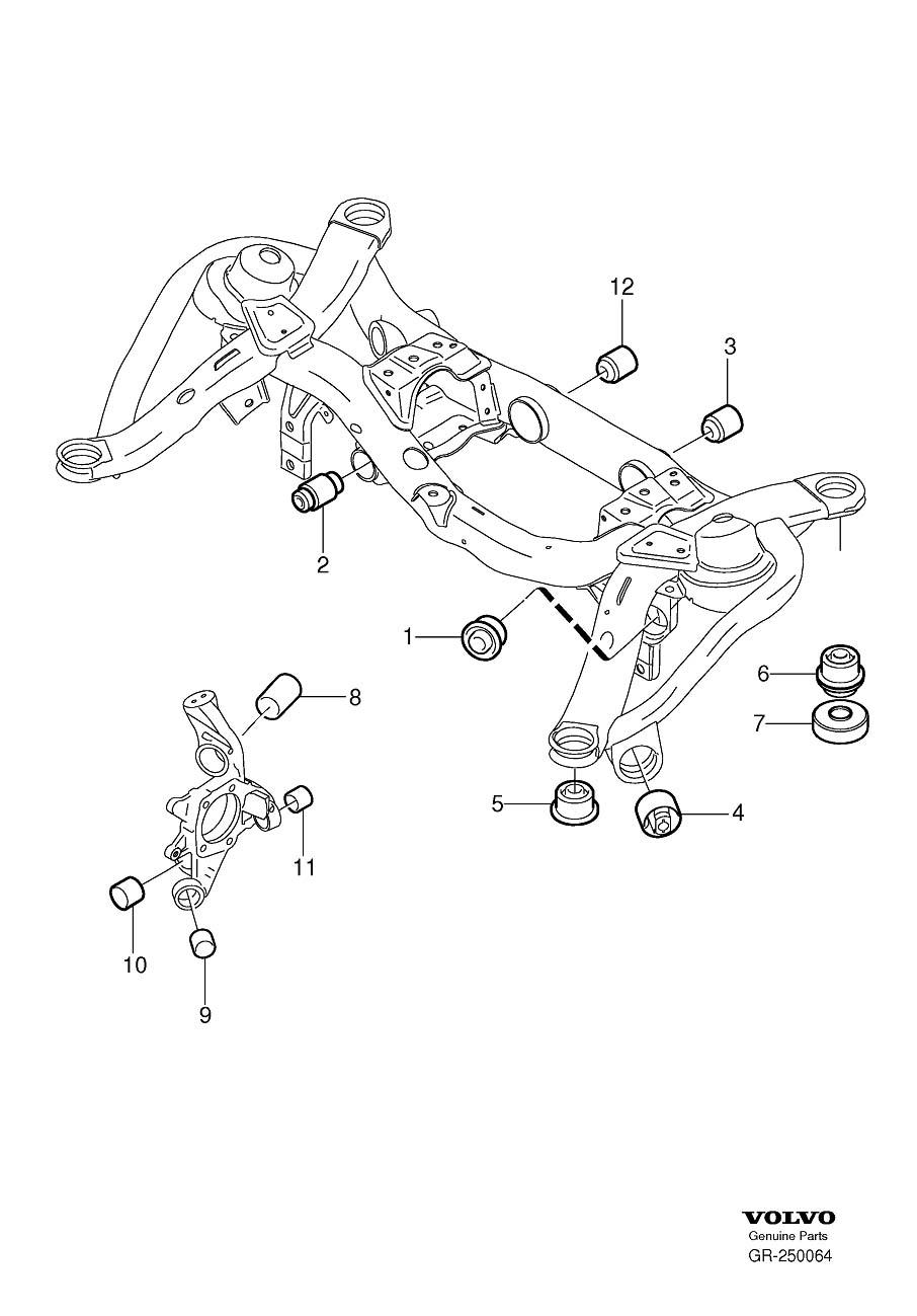 00 volvo s80 parts diagram