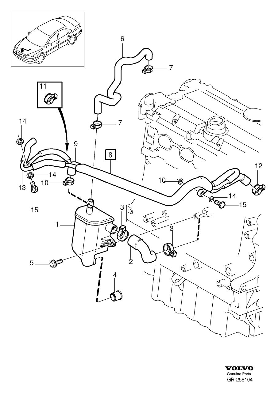 gr 258104 1998 volvo s90 engine diagram volvo t5 engine diagram wiring volvo