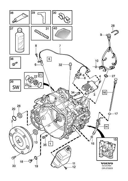 Volvo Xc70 Transmission Oil