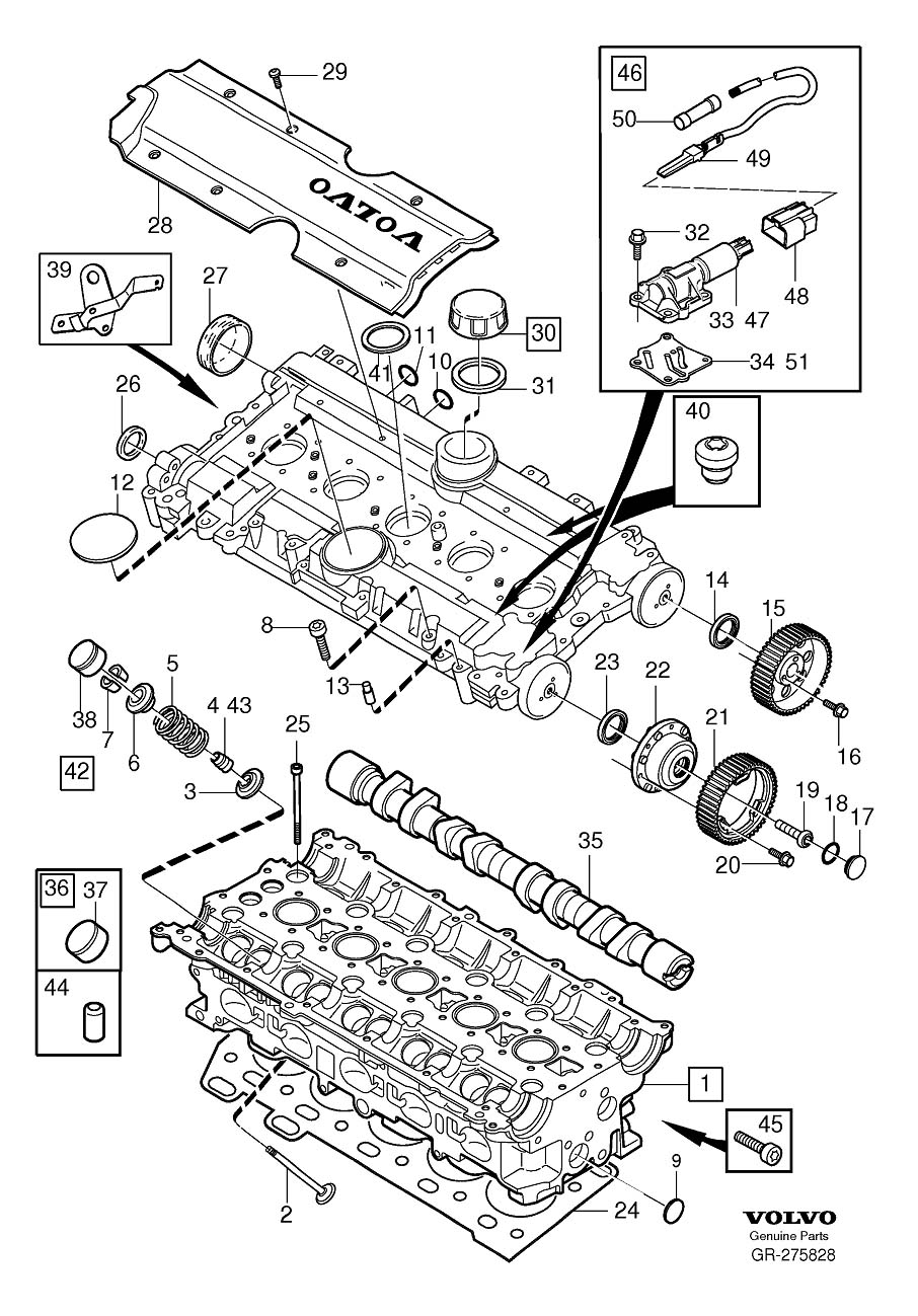 parts of a 2004 volvo c70 engine diagram 2001 volvo c70