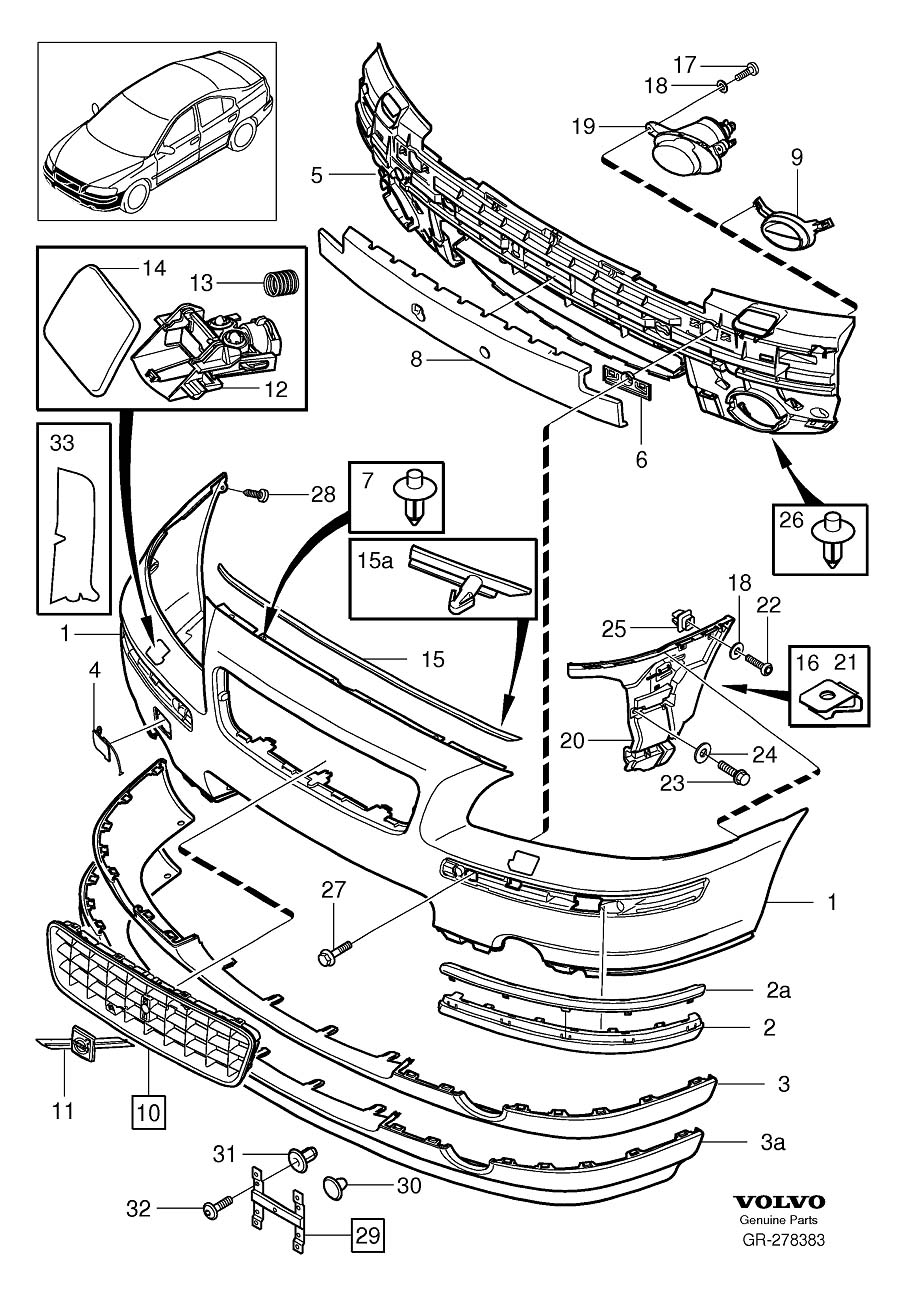 Volvo Parts Diagram Great Design Of Wiring 2006 Fuse Box Mercedes Benz Slk Auto Best 30666243