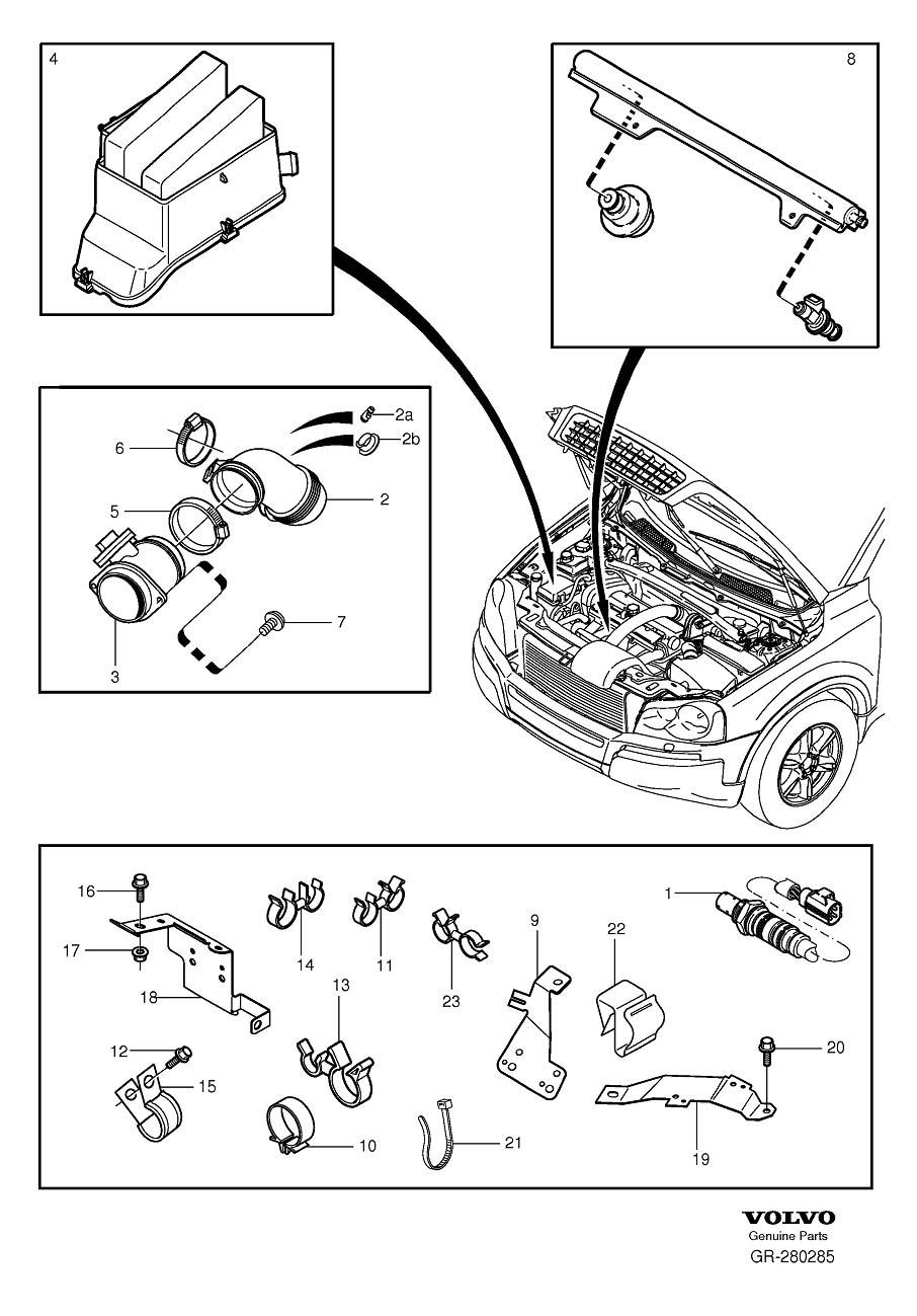 8653644     Volvo    Nipple Aircleaner      Volvo    Parts Webstore