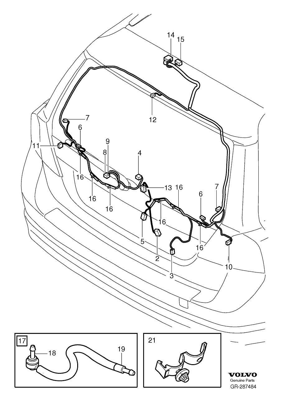 Volvo V70 Tailgate Wiring Harness Diagram And Engine Heated Seat Besides S60 Trunk In Addition