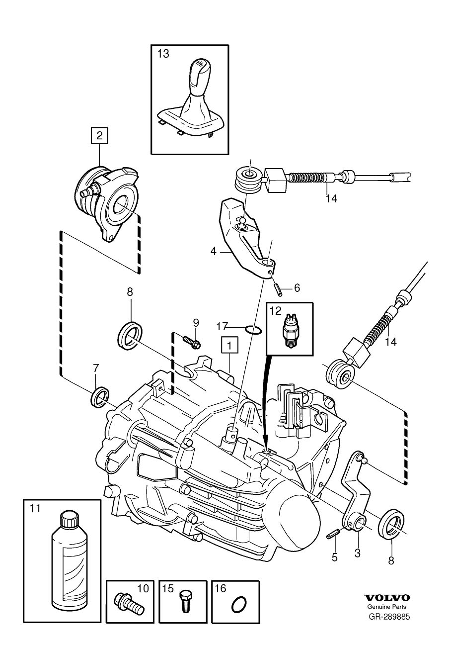 2004 volvo s60 exhaust diagram