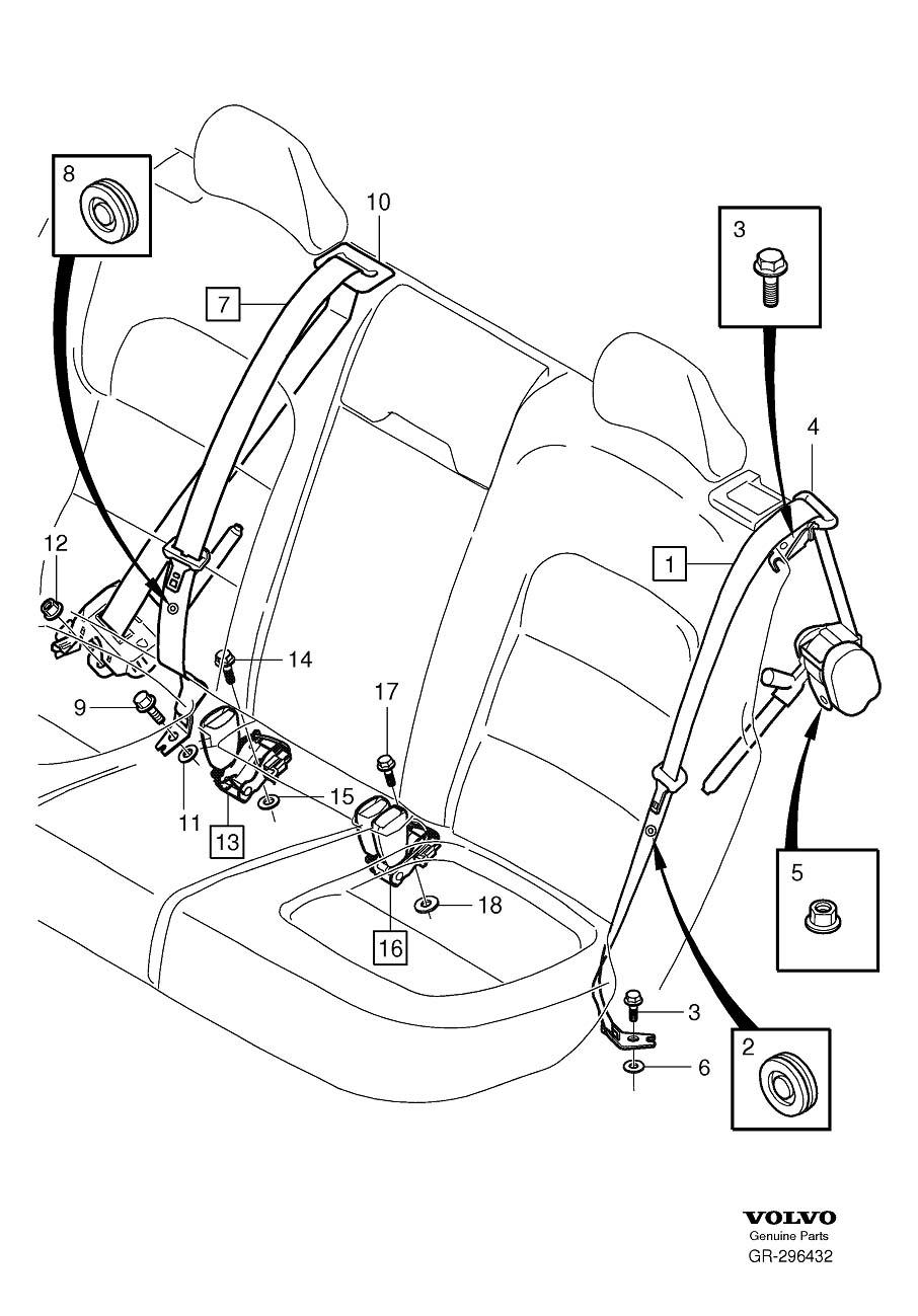 Gr on Belt Diagram 2001 Volvo S60