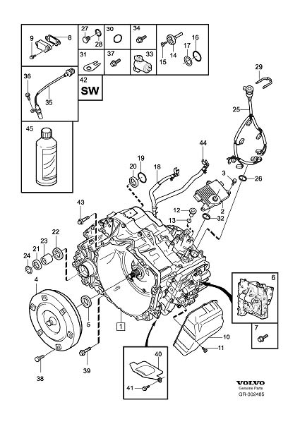 Volvo Xc90 Torque Converter
