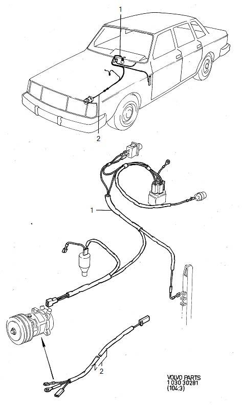 1985 volvo wiring harness